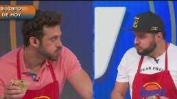 Lambda García y Paul Stanley se enfrentan al comer un burrito gigante: ¡Sin vomitar!