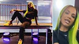 Fosfo fosfo: Natti Natasha se tiñe de verde y luce alocado cambio de look