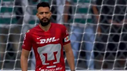 Con dos goles de Lozano, la escuadra universitaria conoció la derrota en el futbol virtual.