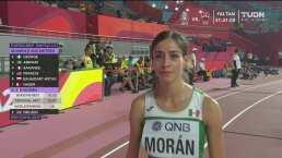 Así corrió Paola Morán la Semifinal de los 400 metros