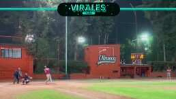 ¡De Grandes Ligas! Tremendo home run de Moi Muñoz