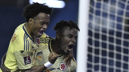 Colombia goleó a Venezuela en las eliminatorias rumbo a Catar   La 'Vino Tinto' no pudo con el conjunto cafetalero en la primera fecha de las eliminatorias mundialistas.