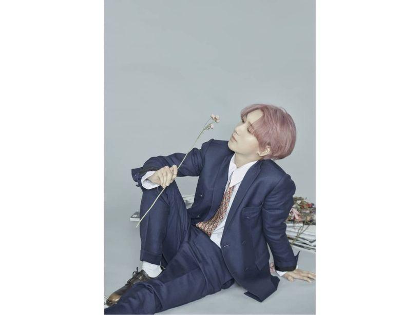 """Yesung de Super Junior publica las fotos del arte de su tercer EE, """"Pink Magic"""""""