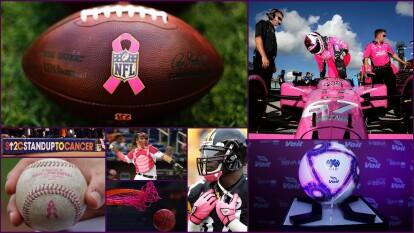 El mes de octubre es el mes de sensibilización sobre el cáncer de mama y se celebra en todo el mundo y en todos los escenarios.