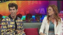 Mauricio Garza alburea a Cynthia Urías en programa en vivo