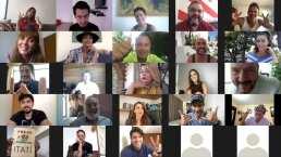 'La mexicana y el güero' celebra cumpleaños de Itatí Cantoral con fiesta virtual