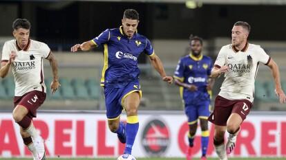 Hellas Verona y Roma empatan en la J1 de la Serie A | Los goles no llegaron al Marcantonio Bentegodi en el inicio de la temporada del futbol italiano.