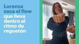 Lorenza, hija de Mauricio Ochmann, saca el flow que lleva dentro al ritmo de J Balvin