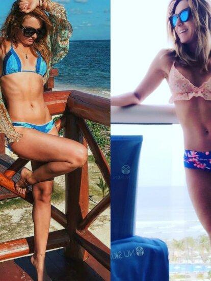 Irina Baeva y Geraldine Bazán se enfrentan en una ardiente guerra de bikinis, tras el escándalo que protagonizan junto a Gabriel Soto. ¡Sacarán chispas!