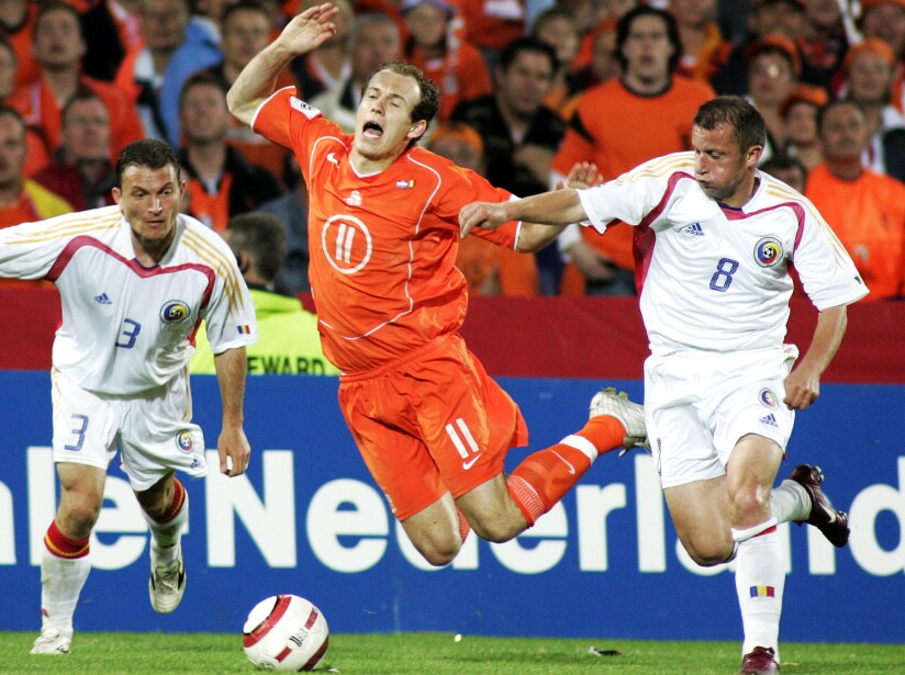NETHERLANDS ROMANIA SOCCER