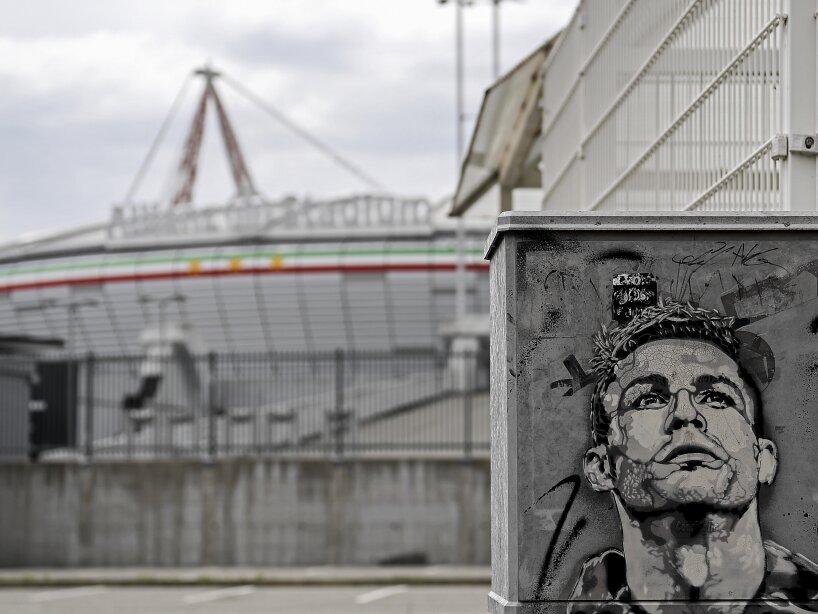Virus Outbreak Italy Soccer Ronaldo