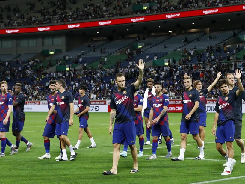 Japan Soccer Barcelona Chelsea