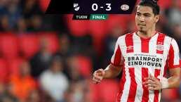Erick Gutiérrez participa en triunfo del PSV Eindhoven