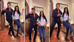 Eduardo Santamarina enciende TikTok al bailar junto a Livia Brito