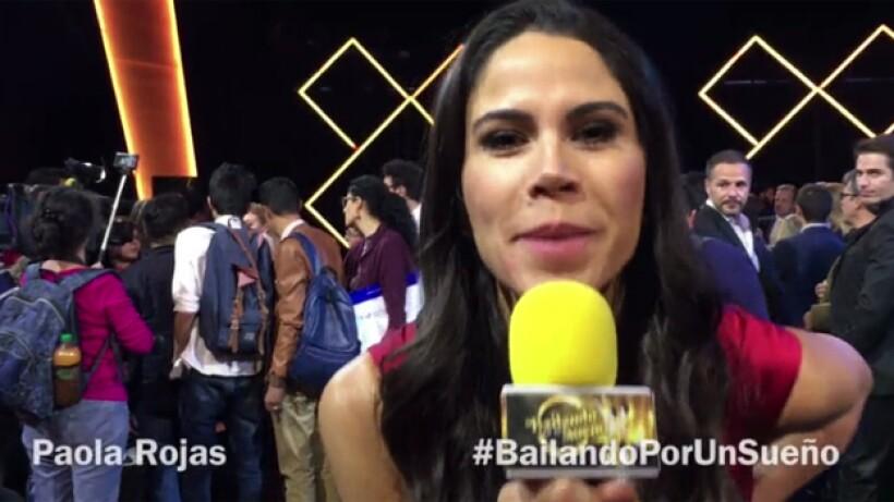 Paola Rojas los invita a Bailando por un Sueño