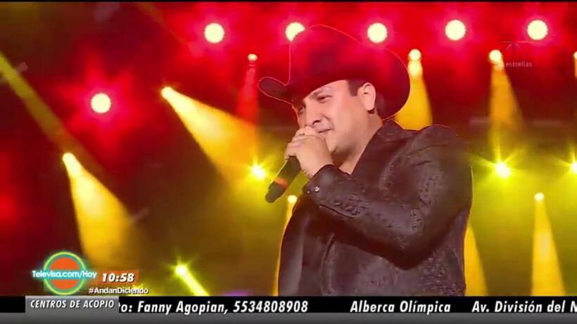 ¡Julión Álvarez reaparece en los escenarios!