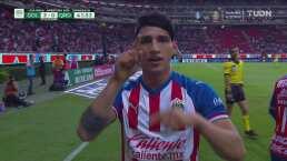 Alan Pulido se suma a la fiesta goleadora de las Chivas