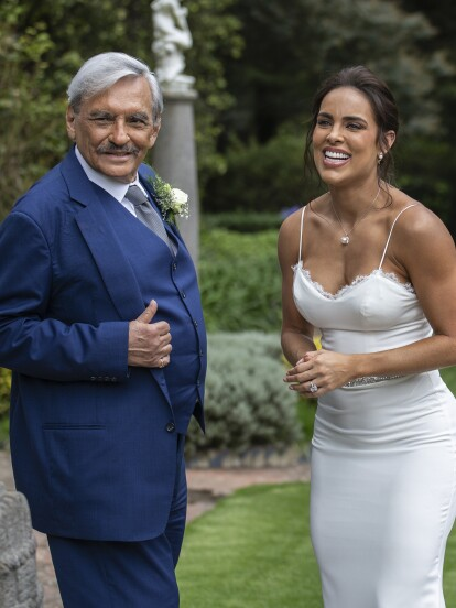 ¡Llegó el día más feliz para Don Patricio y Sabina! Iban a unir sus vidas por lo civil en una ceremonia muy íntima.