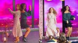 Paola Rojas se 'convierte' en integrante de Kabah y Daniela Magun la pone a bailar