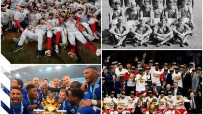 Hay atletas o equipos que no eran favoritos y se coronan campeones en sus respectivas ramas deportivas.