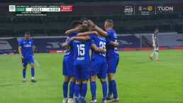 ¡Pita la Máquina! Roberto Alvarado consigue el 1-0 de Cruz Azul