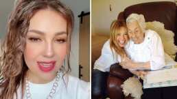 Thalía se sincera y habla sobre el estado de salud de su abuela: 'Está delicada en estos momentos'