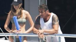 Paparazzi: Stallone de paseo con sexys mujeres y el carrazo de Harry Styles