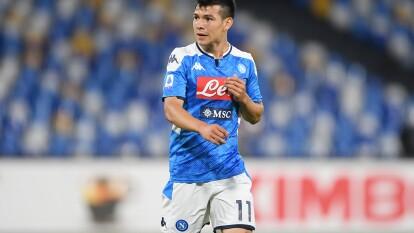 Hirving Lozano vivió su segunda derrota con el Napoli en la Serie A, frente al Cagliari 0-1 en casa.