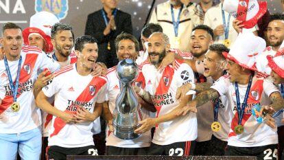 River Plate  con 163.90 millones de euros.