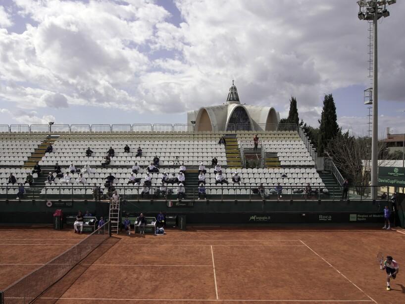 Italy South Korea Tennis Davis Cup