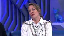 Alfredo Adame le coquetea a Andrea Noli; ella dice que tiene pareja