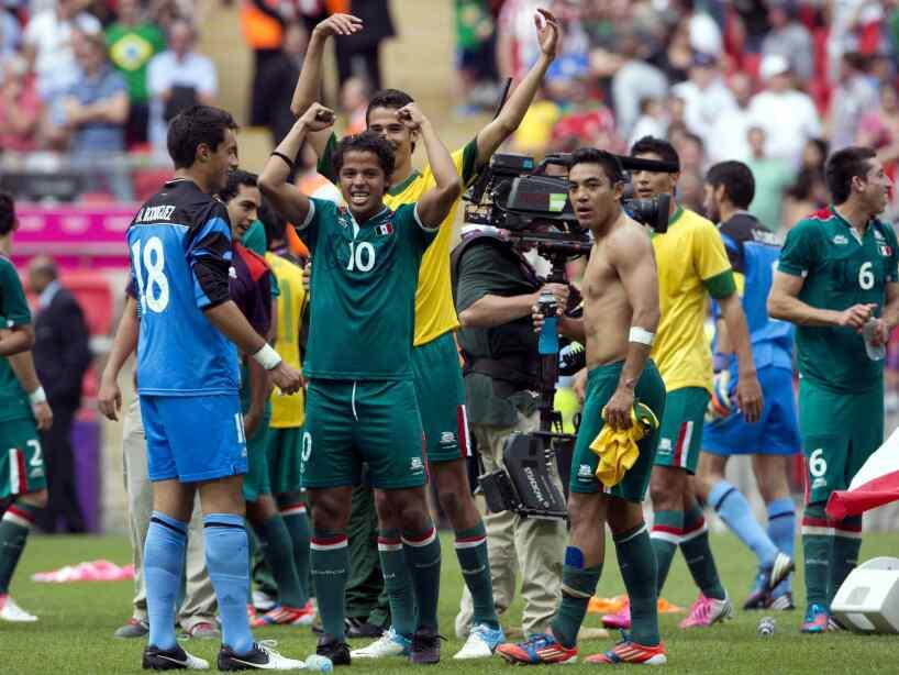 México Brasil Londres 2012
