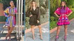 Colorida y audaz: Galilea Montijo le da la bienvenida a la primavera con estos fascinantes vestidos