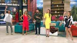 """Marlene Favela se queda sin zapato en plena transmisión en vivo del programa """"Hoy"""""""
