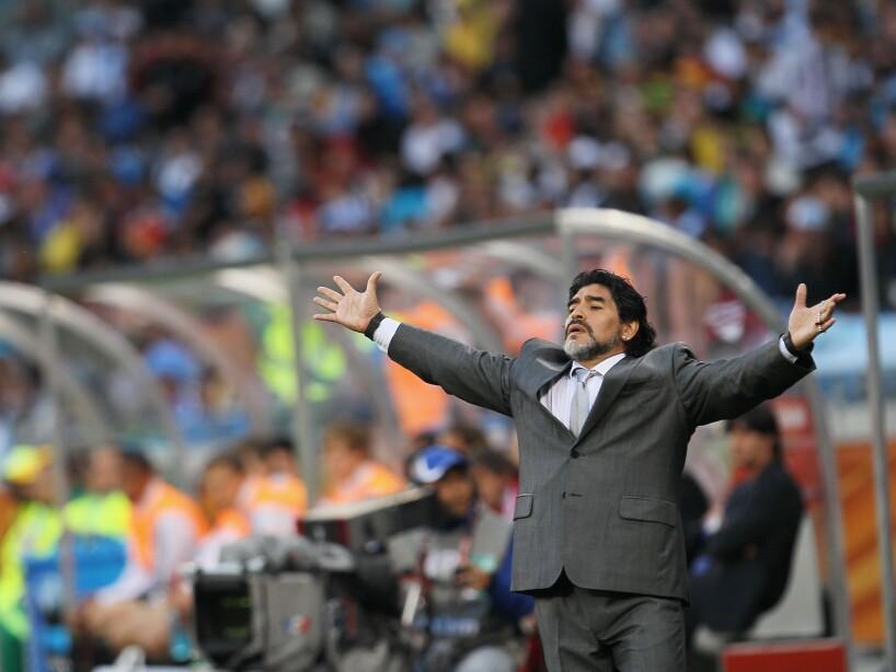 Argentina v Germany: 2010 FIFA World Cup - Quarter Finals
