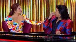 Albertano confunde a María… ¿con Laura León?