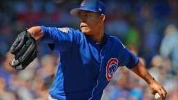 Pitcher de los Cubs tuvo que entrar a cirugía ¡por lavar platos!