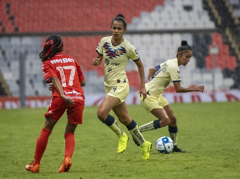 América vs Veracruz, Liga MX Femenil