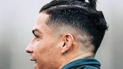 La Juventus entrenó y CR7 se robó los reflectores con nuevo look a lo 'Gareth Bale'.