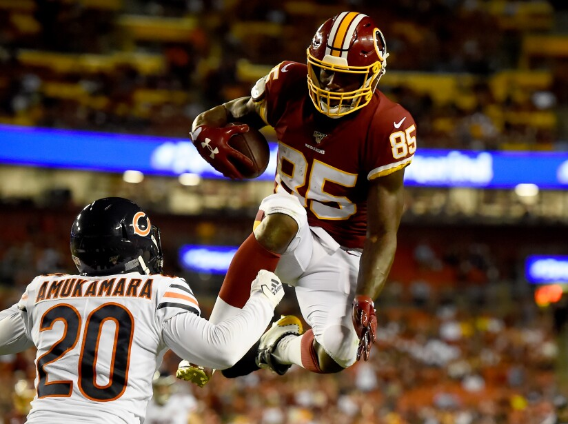 Chicago Bears v Washington Redskins