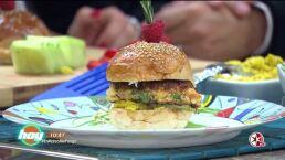 Cocinando con las estrellas: Hamburguesas de pescado y amaranto