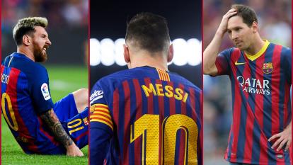 Lionel Messi ha sufrido 22 lesiones a lo largo de su paso como azulgrana. Ahora recayó de su lesión y recordamos otras veces que el argentino tristemente ha quedado fuera de actividad.
