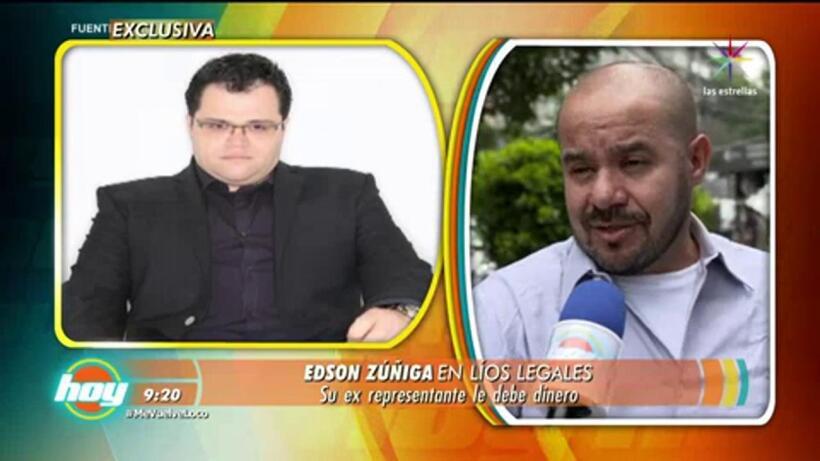 ¡Edson Zúñiga en pleito legal!