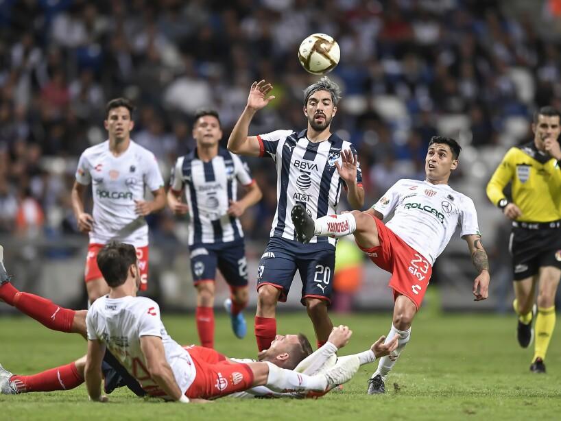 Monterrey v Necaxa - Playoffs Torneo Apertura 2019 Liga MX