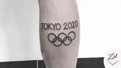 María Zel subió la imagen de un tatuaje alusivo a los Juegos Olímpicos de Tokyo 2020 y las redes sociales nos divertieron un poco.