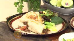 Cocina: Tacos de bistec con salsa de ajonjolí y cilantro
