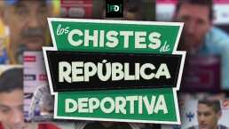 ¡Diversión previo al Clásico! Los chistes de República Deportiva