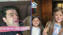"""""""Hagan conmigo lo que quieran"""": Las hijas de """"El Burro"""" Van Rankin lo maquillan y este es el resultado"""