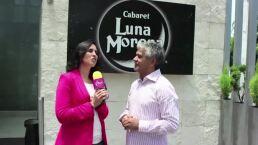 Mario Zaragoza, feliz de trabajar con Lucía Méndez