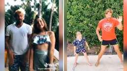 Así bailan Gabriel Soto y sus hijas en divertidos TikTok